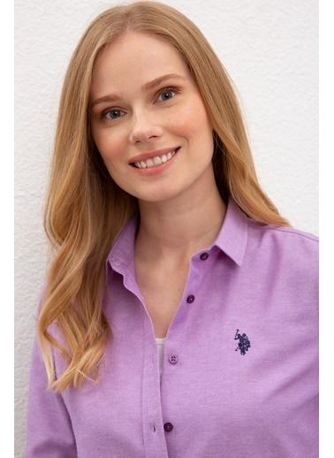 U.S. Polo Assn. Gömlek Mor